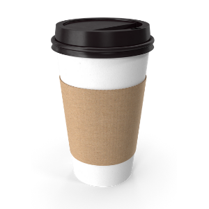 health foods you should avoid. A takeaway coffee cup